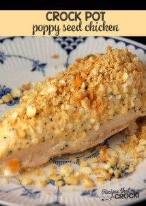 This Poppy Seed Chicken is a cinch to make and so delicious!