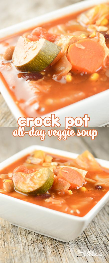 Crock Pot All Day Veggie Soup Recipes That Crock
