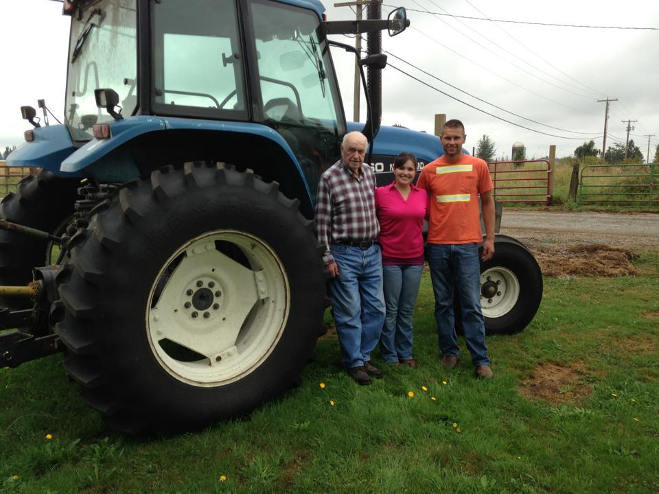 Johnson Farms--Grandpa, Kimmi, Jake