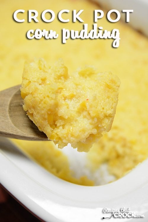 Crock Pot Corn Pudding: Use your slow cooker to free up your oven and make this (lightened up--shh! version) classic holiday dish. No potluck is complete without it , regardless if you call it corn casserole, spoon bread or corn pudding.