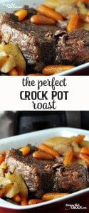 This is Momma's recipe, so you KNOW it is The Perfect Crock Pot Roast!
