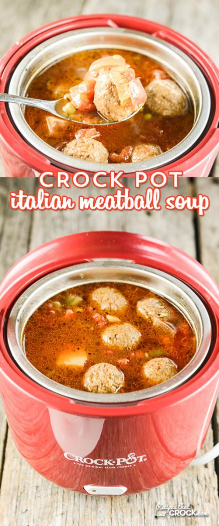 crock pot italian meatball soup recipes that crock. Black Bedroom Furniture Sets. Home Design Ideas