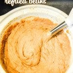 Make your own homemade refried beans at home! This super simple recipe for Crock Pot Refried Beans isso easy to throw together!