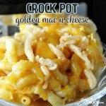Crock Pot Golden Mac n Cheese