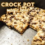 Crock Pot Magic Bars