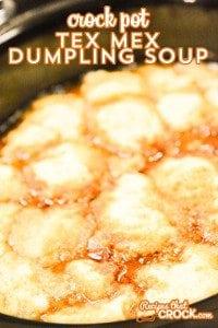 Crock Pot Tex Mex Dumpling Soup is a great new soup that we love!