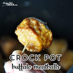 If you love buffalo flavoring, then these Crock Pot Buffalo Meatballs may very well be your new favorite meatballs!