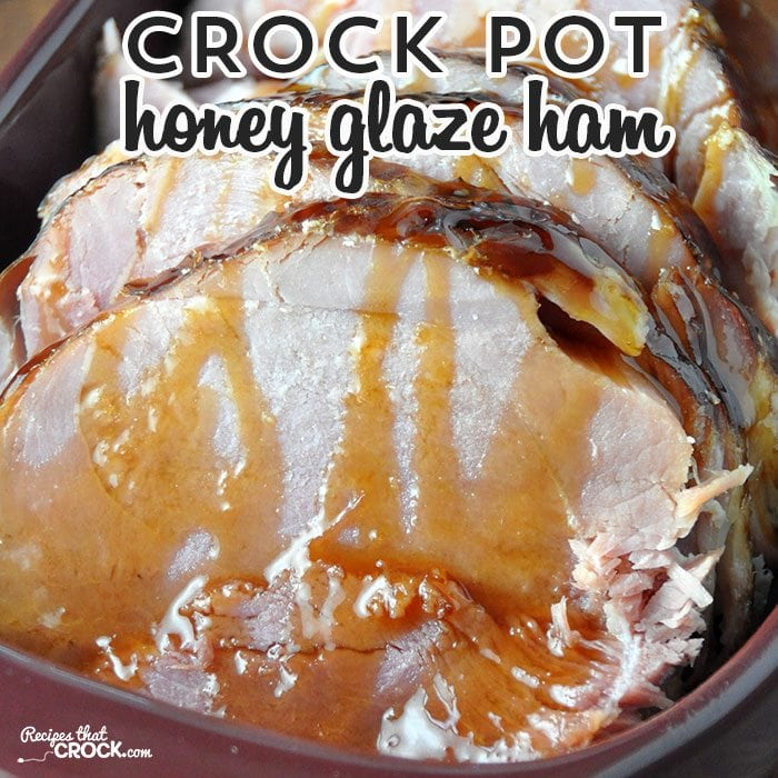 This Crock Pot Honey Glaze Ham is perfect for your next holiday or to make dinner special any day of the week!