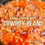Easy Crock Pot Cowboy Beans