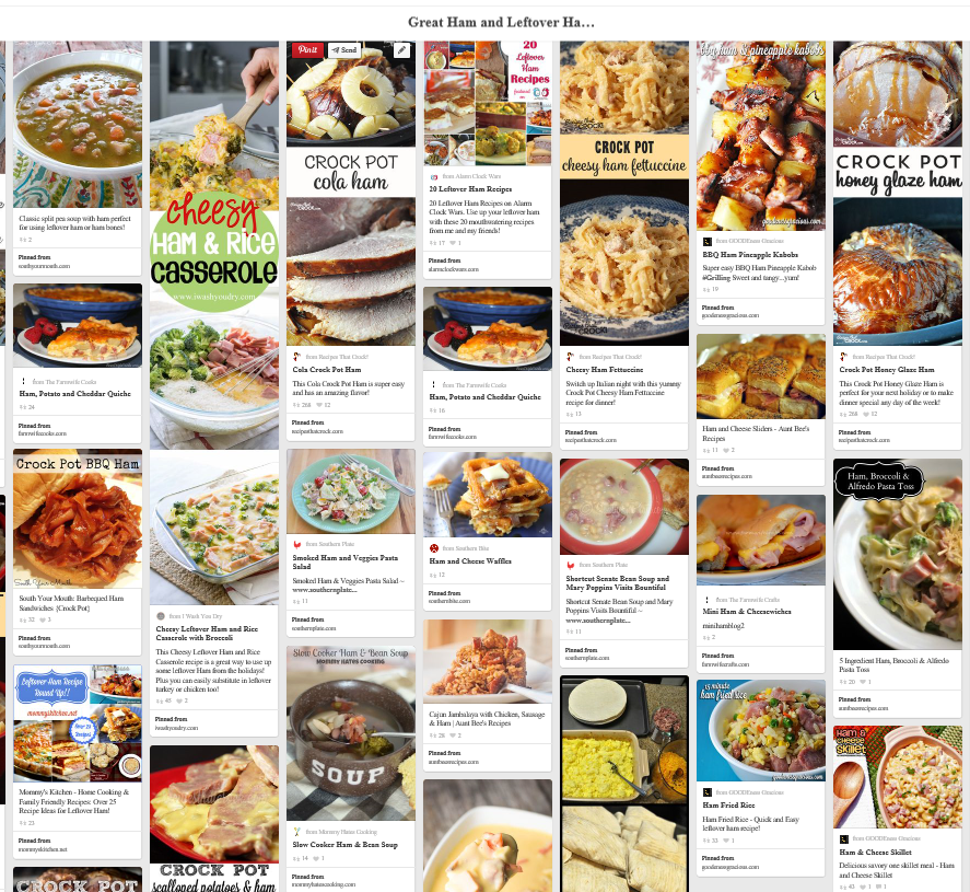 Ham Boards on Pinterest
