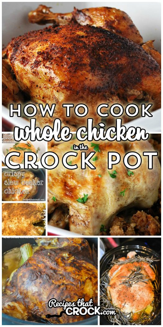 Easy Whole Chicken Recipes: You won't believe HOW EASY it is to cook a whole chicken. We show you 6 different ways including our go-to recipe with veggies and chicken all in one pot!