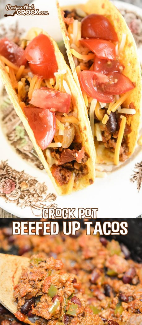 Crock Pot Beefed Up Tacos - L