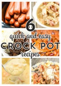 6 Quick and Easy Crock Pot Recipes from Gooseberry Patch's Busy-Day Slow Cooking!