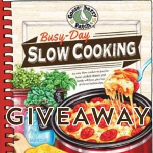 Gooseberry Patch's Busy-Day Slow Cooking Cookbook Giveaway!