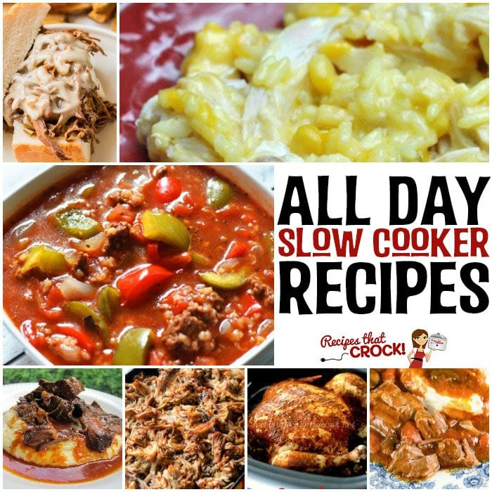 20 All Day Slow Cooker Recipes Recipes That Crock