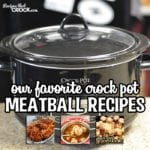 Crock Pot Meatball Recipes