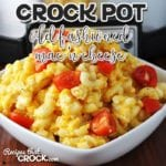 Old Fashioned Crock Pot Mac 'n Cheese