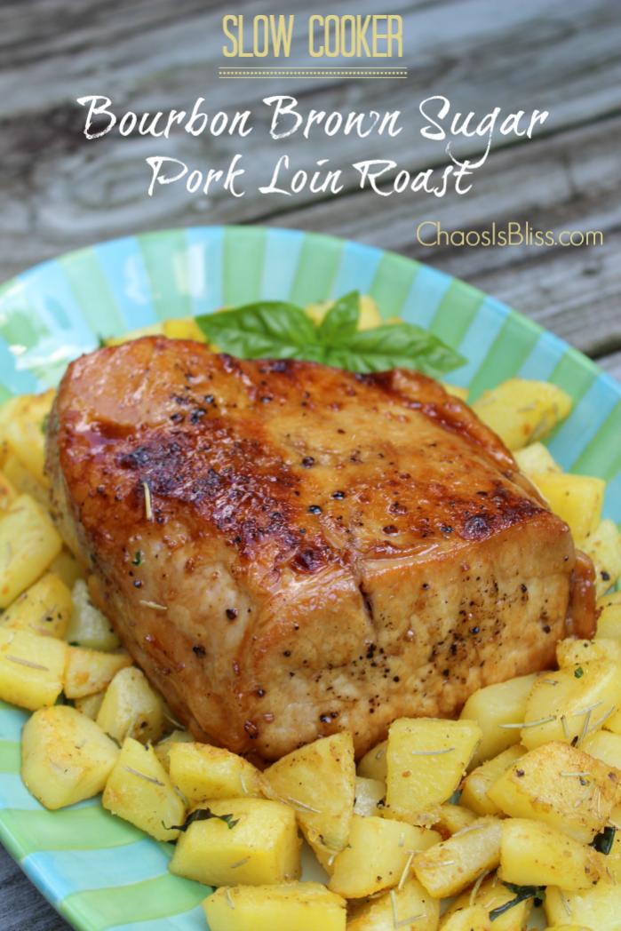 Bourbon Brown Sugar Pork Loin