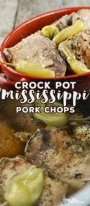Crock Pot Mississippi Pork Chops