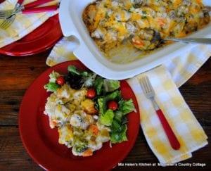Chicken Veggie and Rice