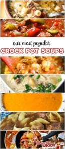 We have shared many posts with mine and Cris' favorites. So we thought we would put together a list of our Reader's Favorite Soups so you can know what all our readers are cRockin' in their kitchens!