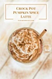 Crock Pot Pumpkin Spice Lattee