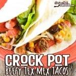 Crock Pot Beefy Tex Mex Tacos