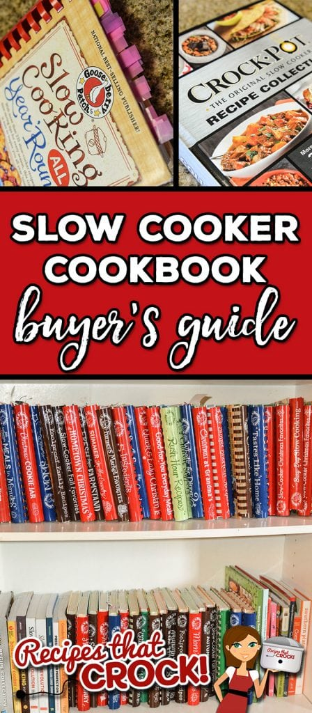 Are you looking for some great slow cooker cookbooks to help you get started with a new crock pot or try something new with one of your favorite slow cookers ?