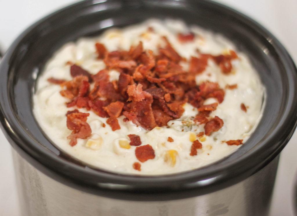 Creamy Hot Bacon Corn Dip