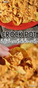 It doesn't matter if you are having a party or if you just want a fun meal, these Crock Pot Buffalo Ranch Chicken Nachos are awesome!