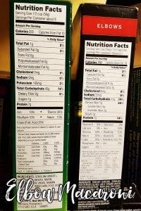 Nutritional Information Varies