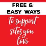 Easy and Free Ways to Support Websites You Love