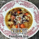 If you love a soup that is incredibly flavorful and scrumdiddlyumptious, then you simply must try this Crock Pot Minestrone Soup!