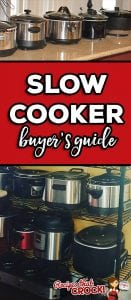 How to Choose the Best Crock Pot for You: These days you can find slow cookers in every shape, size and feature imaginable! But all these choices can be quite overwhelming and we get asked all the time about what slow cooker readers should buy. This is our comprehensive guide on how to decide what slow cooker is best for you. We give you 3 questions to consider, tell you our personal favorites, our least favorites AND our recommendations