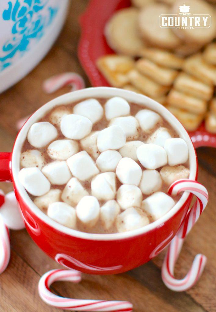 Crock Pot Creamy Hot Chocolate