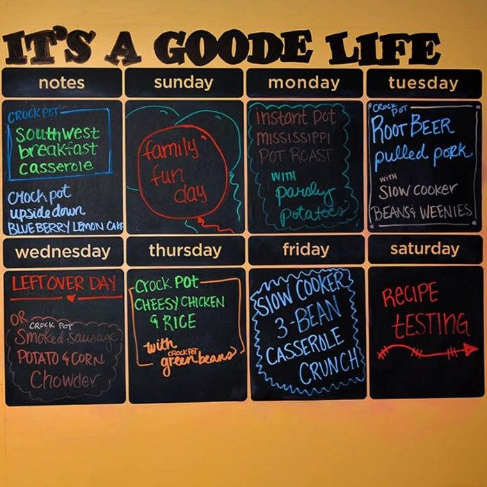 Weekly Meal Plan Week 13 Recipes That Crock