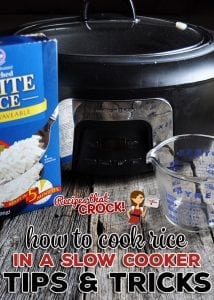 Have you ever tried cooking rice in your slow cooker? Have you maybe had some issues? Has your rice turned out mushy? Has it turned out crunchy? Or maybe you've had mushy and crunchy rice in the same dish! I can help with How to Cook Rice in a Slow Cooker: Tips for Success!