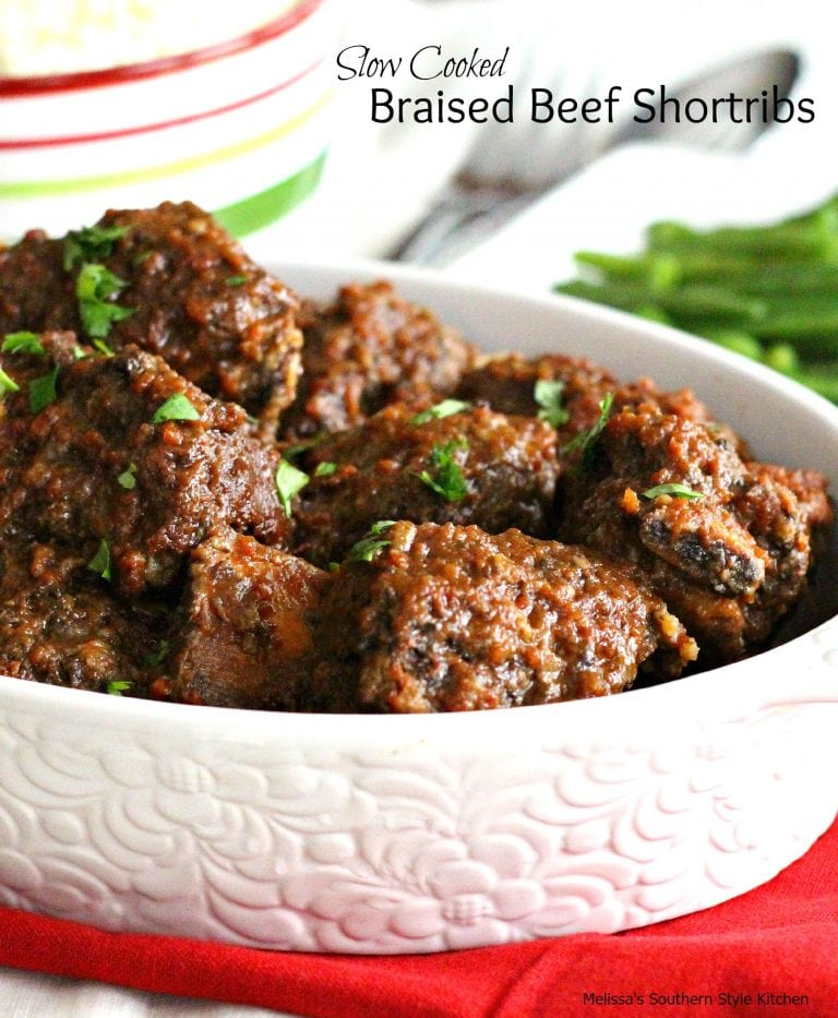 Slow Cooked Braised Beef Shortribs