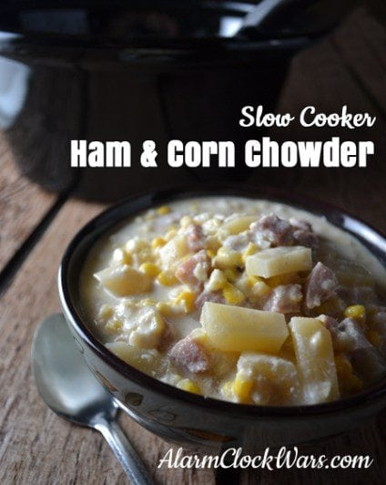 Slow Cooker Ham and Corn Chowder