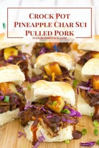 Crock Pot Pineapple Char Siu Pulled Pork