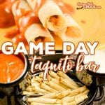 Game Day Taquito Bar