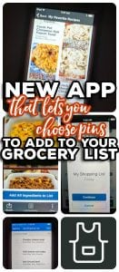 Kroger's new Board to Table App serves as an easy way to connect your favorite Pinterest recipes to your shopping list! Board to Table lets you choose the recipes YOU want to eat this week from YOUR Pinterest boards and then import those ingredients to your shopping list before heading to the store.