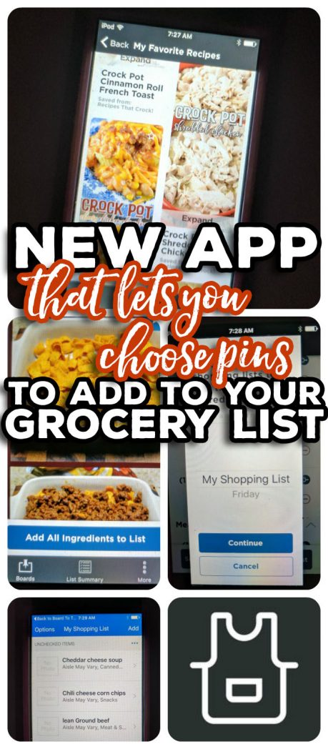 Kroger's new Board to Table App serves as an easy way to connect your favorite Pinterest recipes to your shopping list! Board to Table lets you choose the recipes YOU want to eat this week from YOUR Pinterest boards and then import those ingredients to your shopping list before heading to the store. #ad #BoardToTable @krogerco