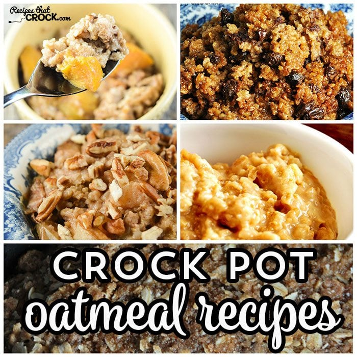 Do you love oatmeal? We do too! Having a piping hot breakfast waiting for you when you wake up is awesome, so check out these Crock Pot Oatmeal Recipes!