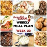 Meal Planning: Weekly Crock Pot Menu 23 (plus Weekly Chat)