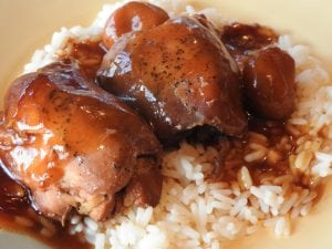 Crock Pot Teriyaki Chicken Thighs