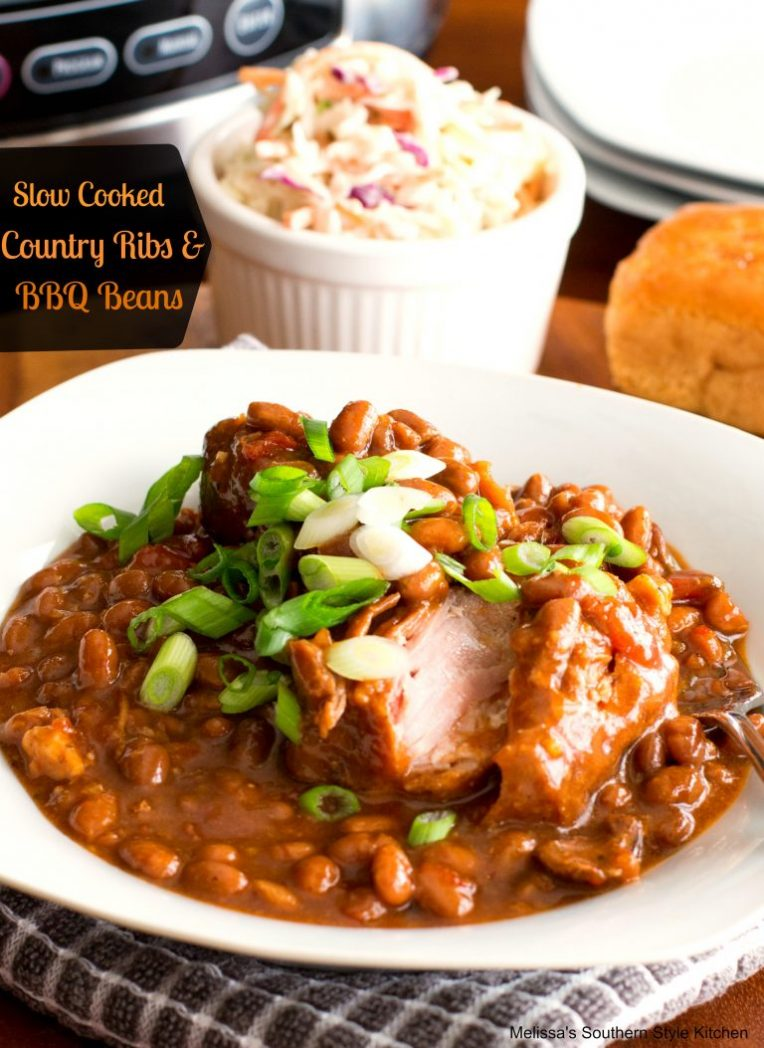 Country Ribs & BBQ Beans