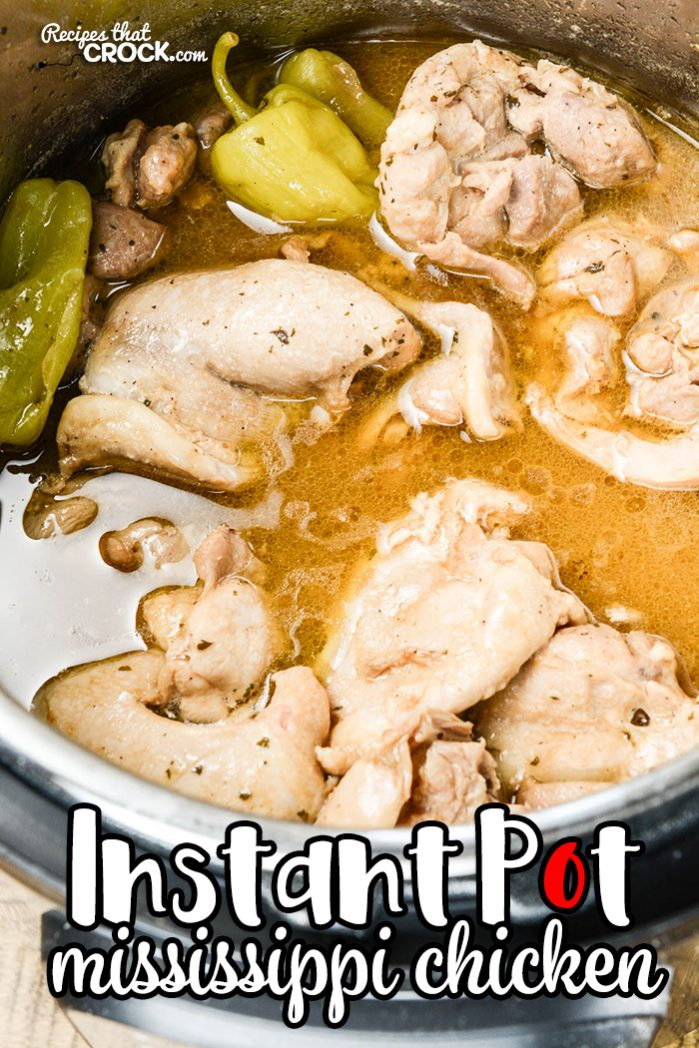 Are you wondering how to make Mississippi Chicken in your Instant Pot? Our Mississippi Chicken Electric Pressure Cooker recipe shows you how to make our popular dish in your choice of crock pot or slow cooker.