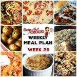 Meal Planning: Weekly Crock Pot Menu 29