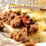 Homemade Sloppy Joes (Slow Cooker )